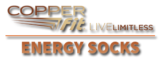 Copper Fit® Energy Socks